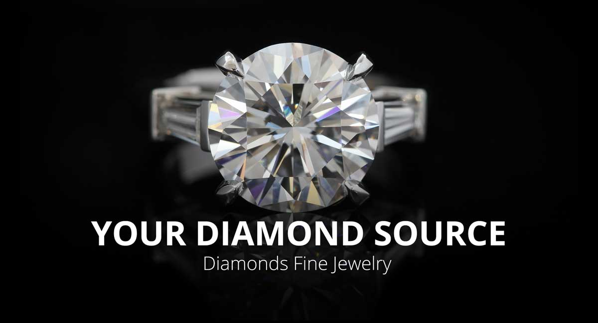 We'll help you choose the perfect diamond for your engagement ring.